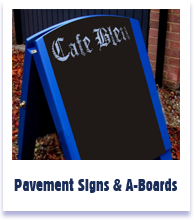 pavement sign review