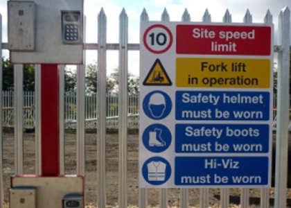 Carrera Graphics | Security, Health and Safety Signs